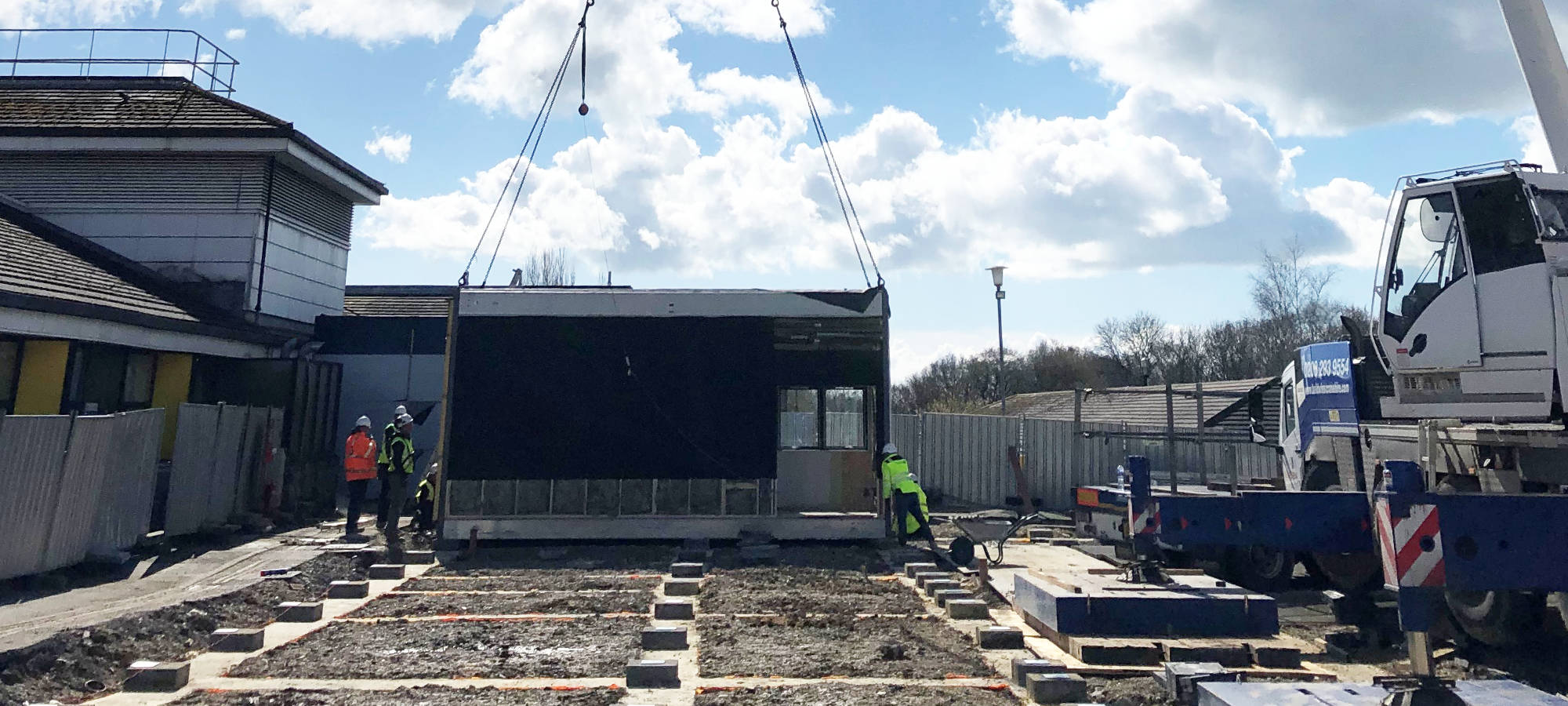 Construction of the two MRI imaging facility by Imaging Matters